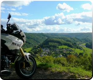 Motorcycle tour normandy